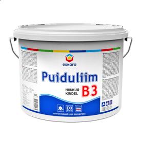 Клей ПВА Eskaro B3 Niiskuskindel Puiduliim 0,33 л