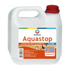 Фасадная грунтовка Eskaro Aquastop Facade 10 л