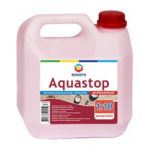 Зміцнююча грунтовка-концентрат Eskaro Aquastop Professional 3 л