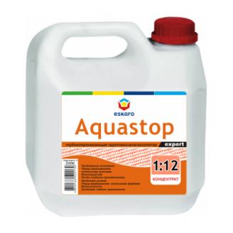 Грунтовка-концентрат Eskaro Aquastop Expert 3 л