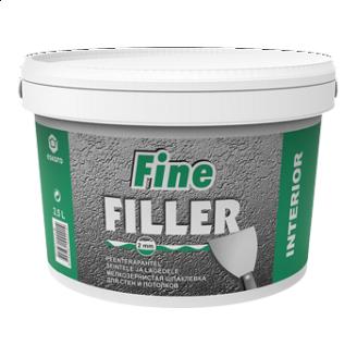 Шпаклевка Eskaro Fine Filler 2,5 л