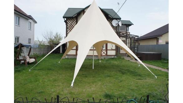 Установка арочного шатра SHIELD