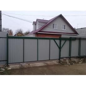 Ворота с профлиста 2*3,5 м