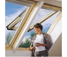 Мансардное окно VELUX GPL 3073 S06 деревянное 114х118 см