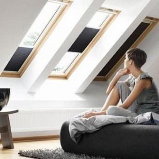 Мансардное окно VELUX GZL 1059 S08 деревянное 114х140 мм