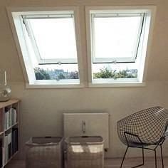 Мансардное окно VELUX GPU 0073 S08 влагостойкое 114х140 см