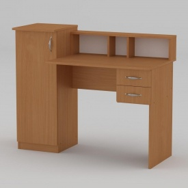 Письменный стол Компанит Пи-Пи-1 1175х550х736 мм бук