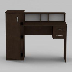 Письменный стол Компанит Пи-Пи-1 1175х550х736 мм махонь