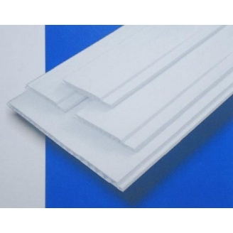 Панель ПВХ лаковая 250 мм белая