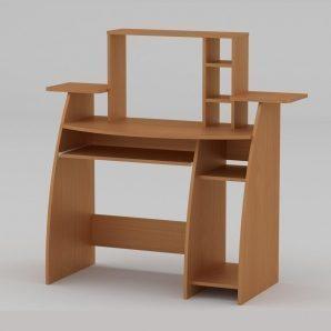 Компьютерный стол Компанит СКМ-5 1230х500х756 мм бук