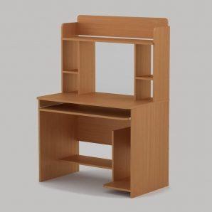 Компьютерный стол Компанит СКМ-6 1000х598х756 мм бук