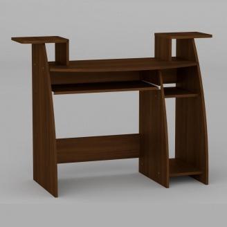 Компьютерный стол Компанит СКМ-4 1230х500х756 мм орех