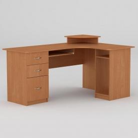 Комп'ютерний стіл Компанит СУ-3 1600х1100х756 мм вільха