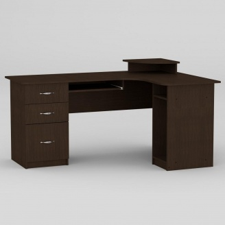 Компьютерный стол Компанит СУ-3 1600х1100х756 мм венге