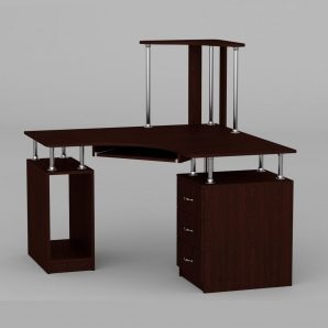 Компьютерный стол Компанит СУ-6 1200х1200х736 мм венге