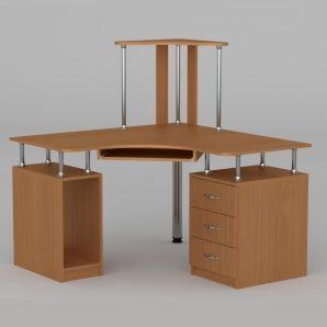 Компьютерный стол Компанит СУ-6 1200х1200х736 мм ольха