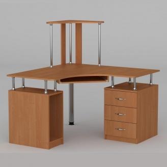 Компьютерный стол Компанит СУ-6 1200х1200х736 мм бук