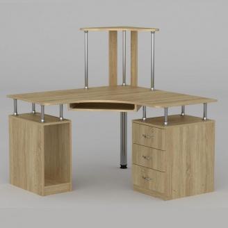 Компьютерный стол Компанит СУ-6 1200х1200х736 мм дуб сонома