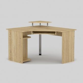 Компьютерный стол Компанит СУ-8 1200х1100х736 мм дуб сонома