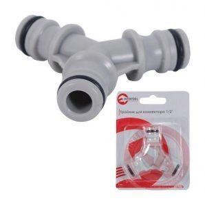 Соединитель Intertool GE-1003 Y-образный для коннектора 1/2