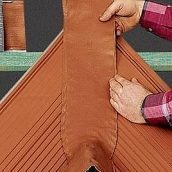 Герметизуюча стрічка Braas Вакафлекс 0,28х10 м коричнева