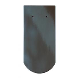 Черепица Braas Опал Глазурь 380х180 мм королевский-серый