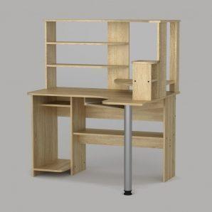 Компьютерный стол Компанит СУ-10 1200х1000х736 мм дуб сонома