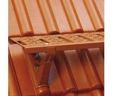 Лавочка для трубочиста Braas 100 см стальная коричневая