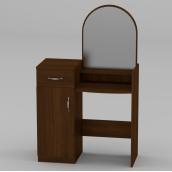 Туалетный столик Компанит Трюмо-1 856х1390х390 мм орех