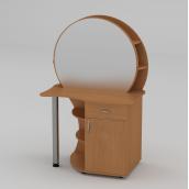 Туалетний столик Компанит Трюмо-3 957х1432х598 мм бук