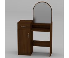 Туалетный столик Компанит Трюмо-1 856х1390х390 мм ольха