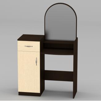 Туалетный столик Компанит Трюмо-1 856х1390х390 мм венге