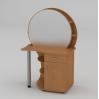 Туалетный столик Компанит Трюмо-3 957х1432х598 мм бук