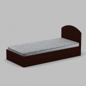 Кровать Компанит 90 944х700х2024 мм махонь