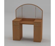 Туалетный столик Компанит Трюмо-4 1010х1300х420 мм бук