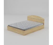 Двоспальне ліжко Компаніт-160 1644х750х2042 мм дуб-сонома