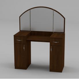 Туалетний столик Компанит Трюмо-4 1010х1300х420 мм горіх