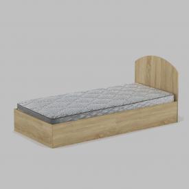 Ліжко Компанит 90 944х700х2024 мм дуб сонома