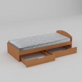 Ліжко Компанит 90+2 944х650х2042 мм бук