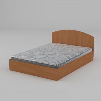 Двуспальная кровать Компанит 140 1444х750х2042 мм ольха