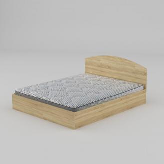 Двуспальная кровать Компанит-160 1644х750х2042 мм дуб-сонома