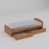 Кровать Компанит 90+2 944х650х2042 мм бук