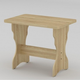 Стол кухонный Компанит КС-2 NEW 900x600x716 мм дуб Сонома
