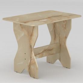 Стол кухонный Компанит КС-1 900x598x716 мм мрамор оникс