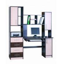 Компьютерный стол СОКМЕ Леон-4 600х1700х2000 мм