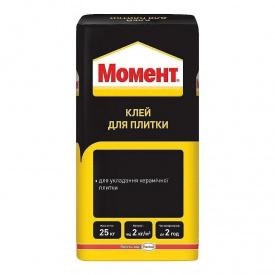 Клей для плитки Момент 25 кг (1324984)