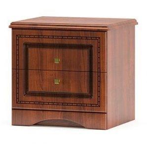 Тумба прикроватная Мебель-Сервис Милано 500х510х455 мм вишня