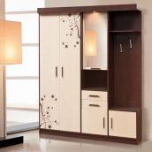 Прихожая Мир мебели Силуэт 2 167x209x47 см темный венге/светлый венге