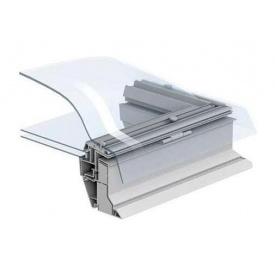 Захисний купол VELUX ISD 0000 090090 для зенітного вікна 90х90 см прозорий