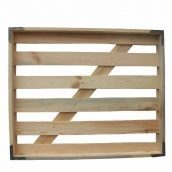 Лоток хлібний дерев'яний 620x737x64 мм